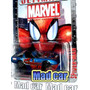 Mc Mad Car Spiderman Hombre Araña Chevy Auto Marvel 1:64