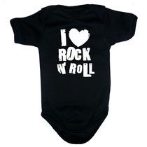Ropa Para Bebe - Pañalero De I Love Rock And Roll