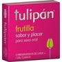 Tulipán Preservativo De Látex Sabor Y Placer X 3 Un