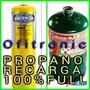 Gas Propano Recargas De Bombonas Prestolay Al 100 %