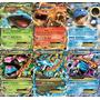 Pokémon Mega Venusaur Mega Blastoise Mega Charizard + 3 Ex
