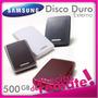 Disco Duro Externo Portátil Para Respaldo Samsung M2 500 Gb