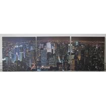 Impresion En Tela Canvas, Triptico 1.50 X 50 (3 Bastidores)