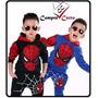 Conjunto Infantil Homem Aranha De 2 A 8 Anos Heroes
