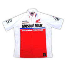 Camisa Honda Troy Lee Muscle Milk