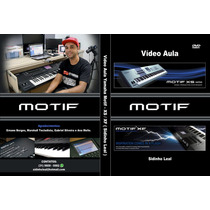 Vídeo Aula Motif Xs&xf Com Pack Sounds 159,90 Fretegrátis!