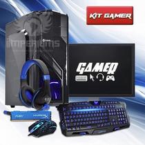 Pc Gamer Completo Amd A4 4.0ghz, Promoção De Natal!