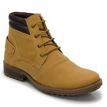 Bota Casual Coturno Masculina Sapato Moderna E Barata
