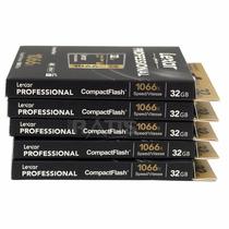 Cartão Compact Flash Cf 32gb Lexar Pro De 160/mb/s 1066x