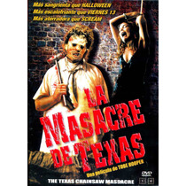 Dvd Masacre De Texas ( The Texas Chainsaw Massacre ) 1974 -
