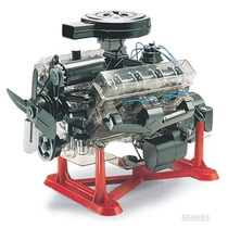 Motor Revell V8 Visible Esc. 1/4 Armar / Testors Tamiya Amt