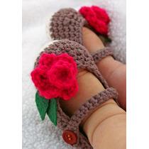 Zapatitos Para Bebe En Crochet