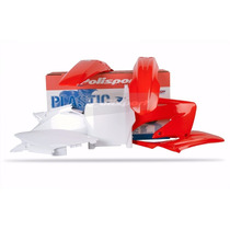 Kit Plásticos Honda Cr 125/250 1995-1997 Polisport Oem Red
