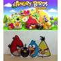 Kit Display De Chão Angry Birds 8 Peças + Painel 2,00x1,40mt