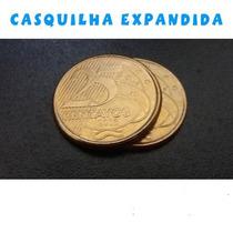 Magica Moeda Casquilha Expandida De R$ 0,25 Truques Magia