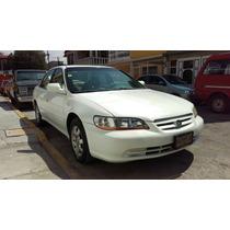 Honda Accord Ex L4 Piel Cd A/a E/e 2001