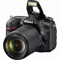 Camera Nikon D7200 Lente 18-140mm Vr + Bateria Extra En-el15