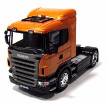 Mini Caminhão De Coleção Scania R-470 Escala 1.32