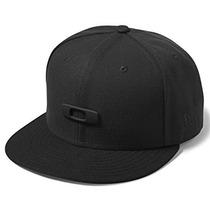 Oakley 100259 Gorra Deportiva Para Hombre, Color Negro, Unit