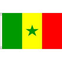 Bandera De Senegal - Senegal 3ftx 2ft Nacional País Metal