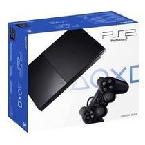 Playstation 2 + Chip 2016 + 2 Joystick Sony Original