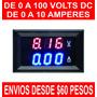 Voltimetro Amperimetro Digital 0 A 100vdc 10a