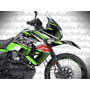 Calcomanias Klr / Kawasaki / Klr 650 Rotulacion Cross