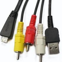 Cable Usb Audio Video Sony Dsc-tx10 Dsc-wx5 Dsc-w570 Dsc-hx9
