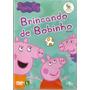Dvd Peppa Pig - Brincando De Bobinho - Novo***