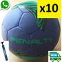 Pelota De Fútbol Penalty X 10. Pakistan. No 5 + Inflador. Eg