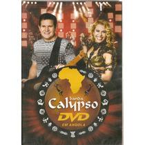 Dvd Banda Calypso - Volume 17 - Ao Vivo Em Angola - Novo***