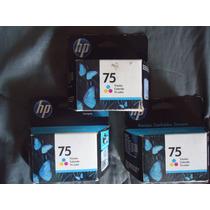 Cartucho Hp 75 Originales Vencidos Remate! Tienda Fisca Mp