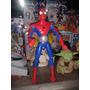 Spiderman Hombre Araña 32 Cm C/sonidos Marvel Buen Estado