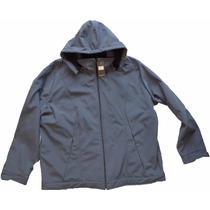 Campera Softshell Talle Especial Grande Impermeable Nieve