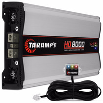 Amplificador Hd8000 Taramps 2 Ohms-8000 Watts - Mono