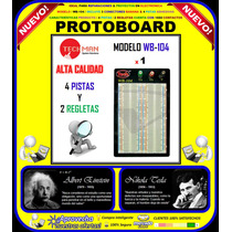 Protoboard Techman Usa / Modelo / Wb-104 / Original /