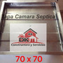 Tapa Camara Septica Galvanizada 70 X 70 Cm Merc Envios