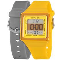 Relógio Infantil Digital Mariner Troca Pulseira Hb/8y