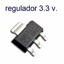 Regulador Ams1117, 3.3v 1 Amper, Sot-223, Reballing