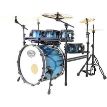 Bateria Road Up Com Rack Azul - Pbr22656