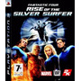 Fantastic Four Rise Of The Silver Surfer Ps3 Mídia Física