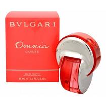 Perfume Locion Bvlgari Omnia Coral Para Dama 65 Ml Original