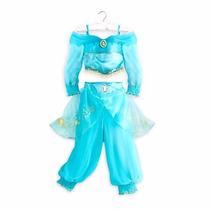 Vestido Y Disfraz De Jasmine Marca Disney 100% Original E Im