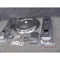 Chevrolet 1500 Pick Up 88-91 Kit Cromado Para Motor Tbi