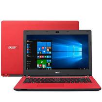Notebook Intel Celeron Tela 14 Vermelho - Acer