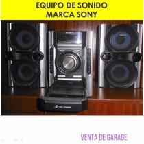 Desprendidosve Equipo De Sonido Marca Sony