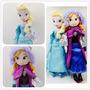Muñeca Peluche Frozen Anna O Elsa Disney Tv
