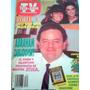 Tele Guias Tv Revista Artista Daniela Romo Antigua 1991 Vv4