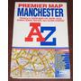 Mapa Guía De Calles Manchester Gran Bretaña Inglaterra