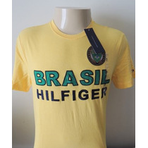Tommy Hilfiger : Camisa Edição Limitada Brasil Tam M
